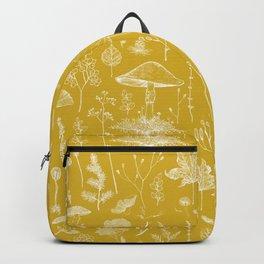 Woodland Walk / Mustard Backpack