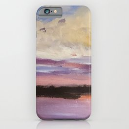 Clouds over the St Lucie Inlet iPhone Case