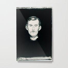 Edvard Munch - Portrait Metal Print