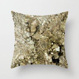 A Golden Fool Throw Pillow