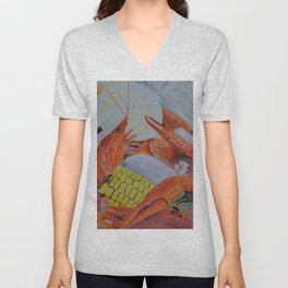 Gulf Coast Crawfish Unisex V-Neck