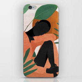 Tropical Girl 10 iPhone Skin