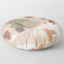 Graceful Resting II Floor Pillow