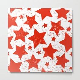Red Stras Metal Print