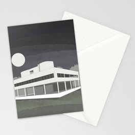Villa Savoye / Le Corbusier ! Architectural poster! Stationery Cards