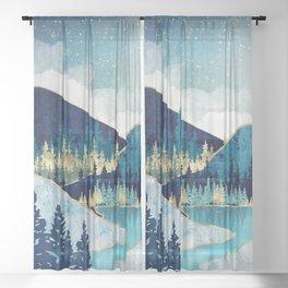 Morning Stars Sheer Curtain