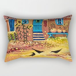 I Love Fall Rectangular Pillow