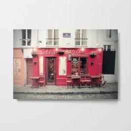 Chez Marie, Paris Metal Print