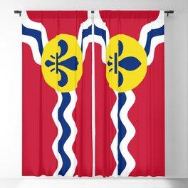 Flag of St. Louis, Missouri Blackout Curtain