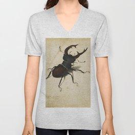 Albrecht Durer - Stag Beetle Unisex V-Neck