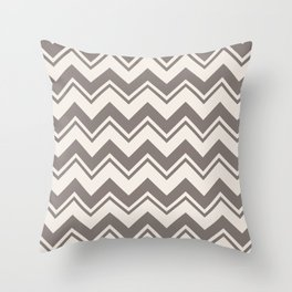 SIMPLE CHEVRONS 02 Throw Pillow