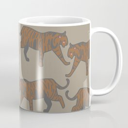 wild tigers pattern 1 Coffee Mug