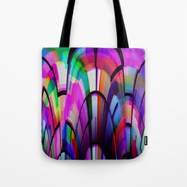 Color Gates Tote Bag