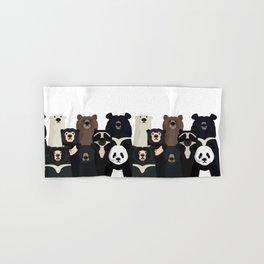 Bear family portrait Hand & Bath Towel