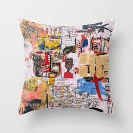 Al Diaz Throw Pillow