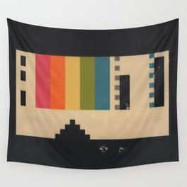 VHS Pixels Wall Tapestry