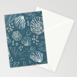 Deep-sea Treasures - cold Stationery Cards