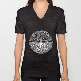 Druid Tree of Life Unisex V-Neck