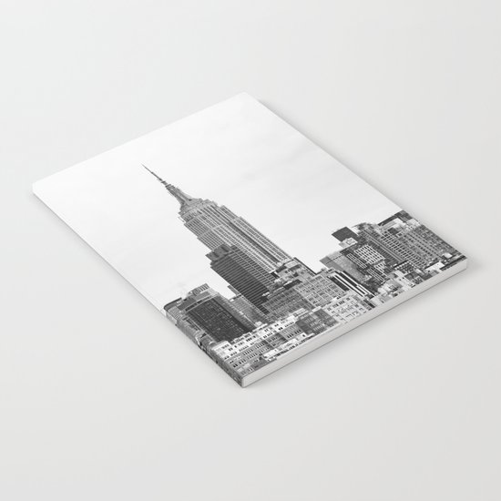 The New York Cityscape City (Black and White) by nocolordesigns