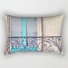 Petit - Paris Window Rectangular Pillow