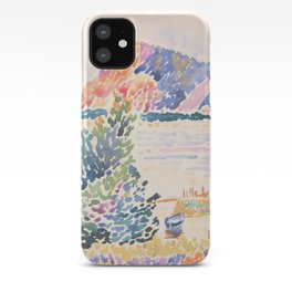 Cap Nègre by Henri-Edmond Cross 1909, French iPhone Case