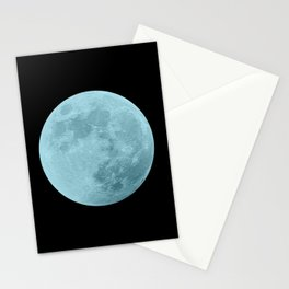BLUE MOON // BLACK SKY Stationery Cards