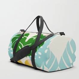 Abstraction_PLANTS_01 Duffle Bag