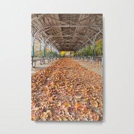 North Point Trolley Pavilion Metal Print