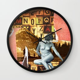 Elegiacal Wall Clock