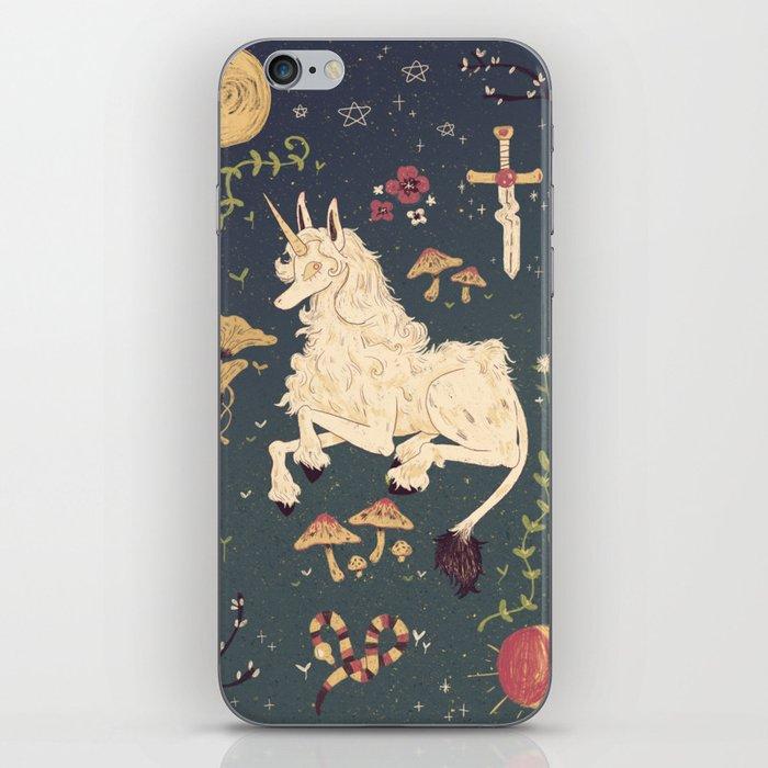 Unicorn Garden iPhone Skin