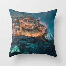 jon bellion glory sound prep tour 2020 ngamein Throw Pillow