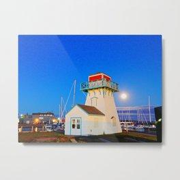 Summerside Harbour lighthouse Metal Print