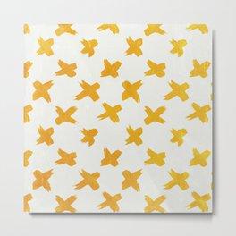 XXX pattern Metal Print