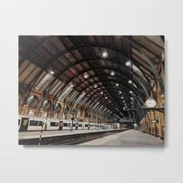 Kings Cross Station Metal Print