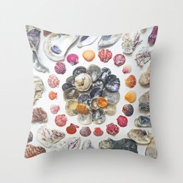 Jingle Shell Sun Throw Pillow