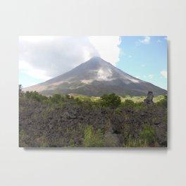 Volcán Arenal at a Distance Metal Print
