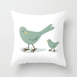 Listening is caring Throw Pillow