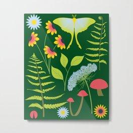 Woodland Forest Metal Print