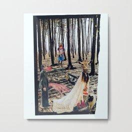 The Bride Metal Print