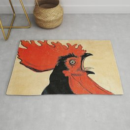 The Screaming Cock Rug