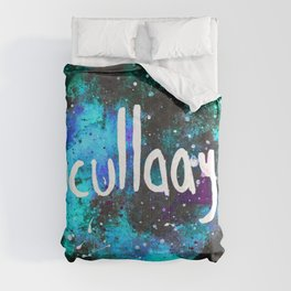Scullaayyyy Blue & Turquoise Comforters
