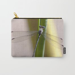 Watercolor Damselfly, Great Spreadwing 01, Ventana Canyon, Arizona Carry-All Pouch