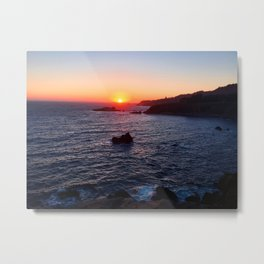 Ragged Point Sunset Metal Print