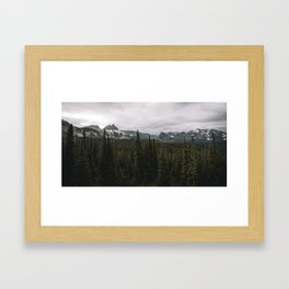 Glacier National Park Framed Art Print
