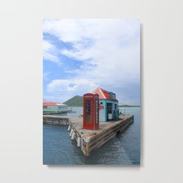 Pusser's Marina Cay in the Caribbean Metal Print