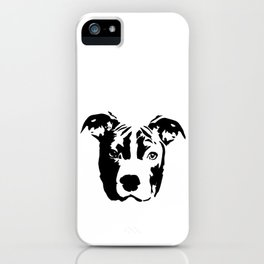 Pit Bull Terrier Dog iPhone Case