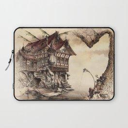 Steampunk Landscape Laptop Sleeve