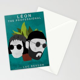 Léon: The Professional, 1994 (Minimalist Movie Poster) Stationery Cards