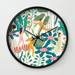 Celebrating Womanhood Wall Clock