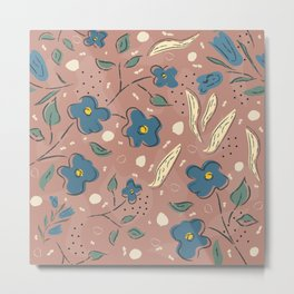 Flowers Metal Print